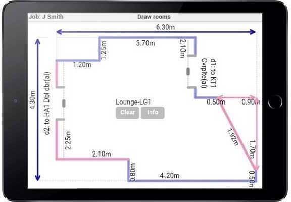 IPad Flooring Apps   IPad Floor Measurement   Floor Measurement App ...